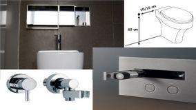 Scopino idraulico per wc