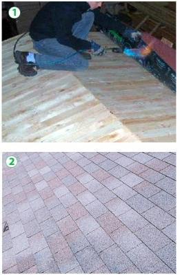 Montaggio casetta da esterno for Tegole del tetto della casetta
