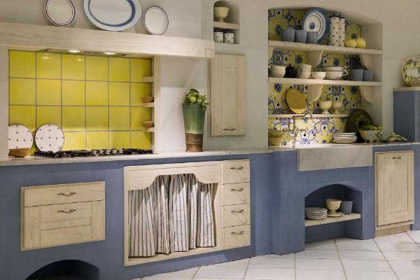 Cucina modello Iris versione Mediterranea di Aurora Cucine