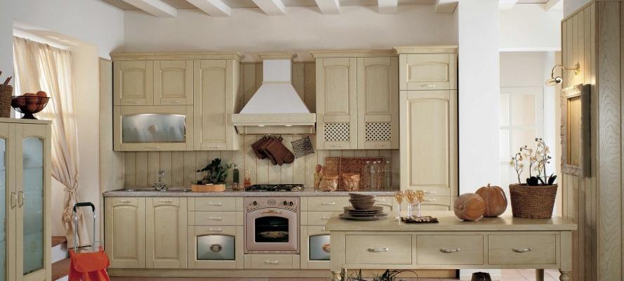 Cucine classiche rustiche e in legno modelli e for Arredamento cucina country