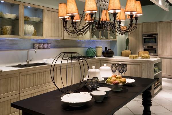 Cucina Vincent versione grigia di Aurora Cucine