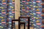 Tende per cameretta soggetto Cars di Tessuti.com