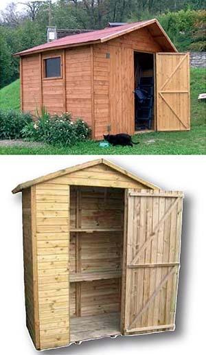Realizzare casette in legno da giardino for Casette prefabbricate in legno