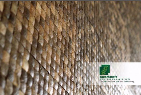 Rivestimento in cocco di Cocomosaic