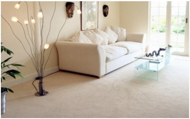 Pavimenti in fibre di cocco toni chiari di Tappezzeria Magnolfi