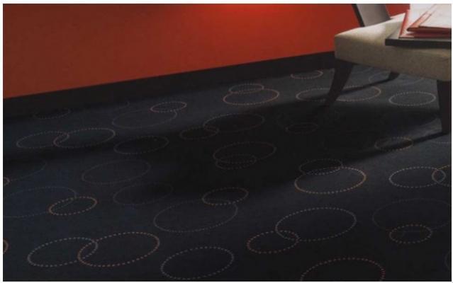 Pavimenti in fibre di cocco motivo disegnato di Tappezzeria Magnolfi