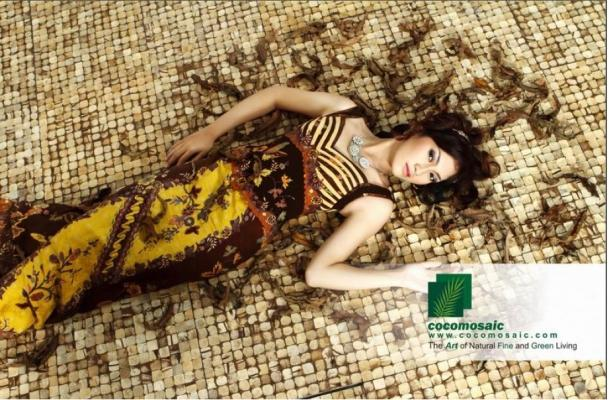 Pavimenti in cocco di Cocomosaic