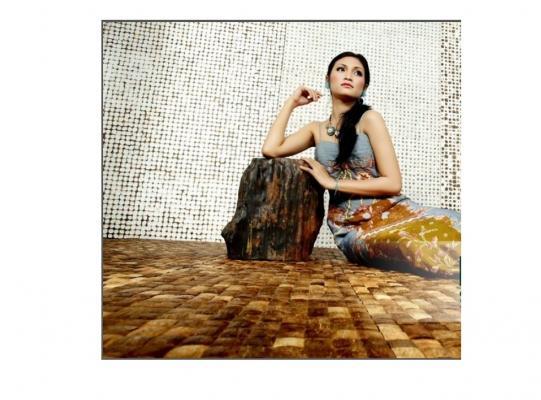 Applicazione pavimento in cocco di Cocomosaic