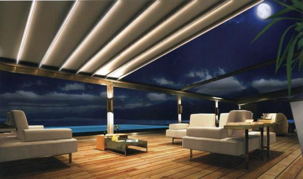 Illuminazione gazebo in legno: come illuminare un soffitto con travi