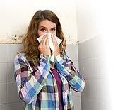 Come eliminare la muffa, causa di allergie