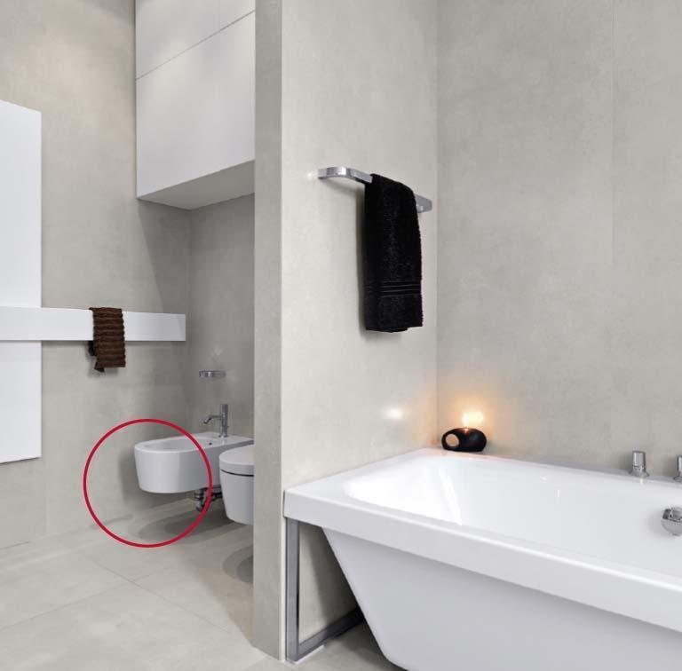 Togliere la muffa dai muri in bagno