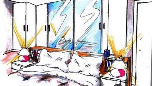 Armadio dietro letto for Progettare una camera da letto