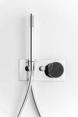 Miscelatore in marmo per doccia di IB Rubinetterie