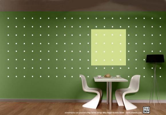Carta removibile TILESKIN, Linea pop decori