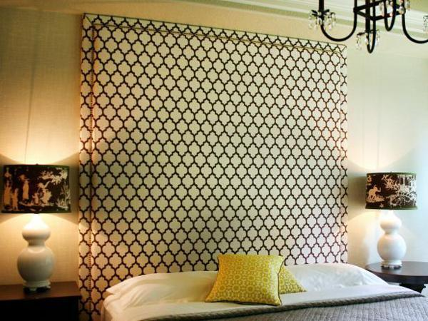 testiere del letto fai da te. Black Bedroom Furniture Sets. Home Design Ideas