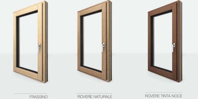Serramenti legno alluminio: essenze