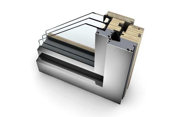 Telaio finestra legno alluminio Internorm