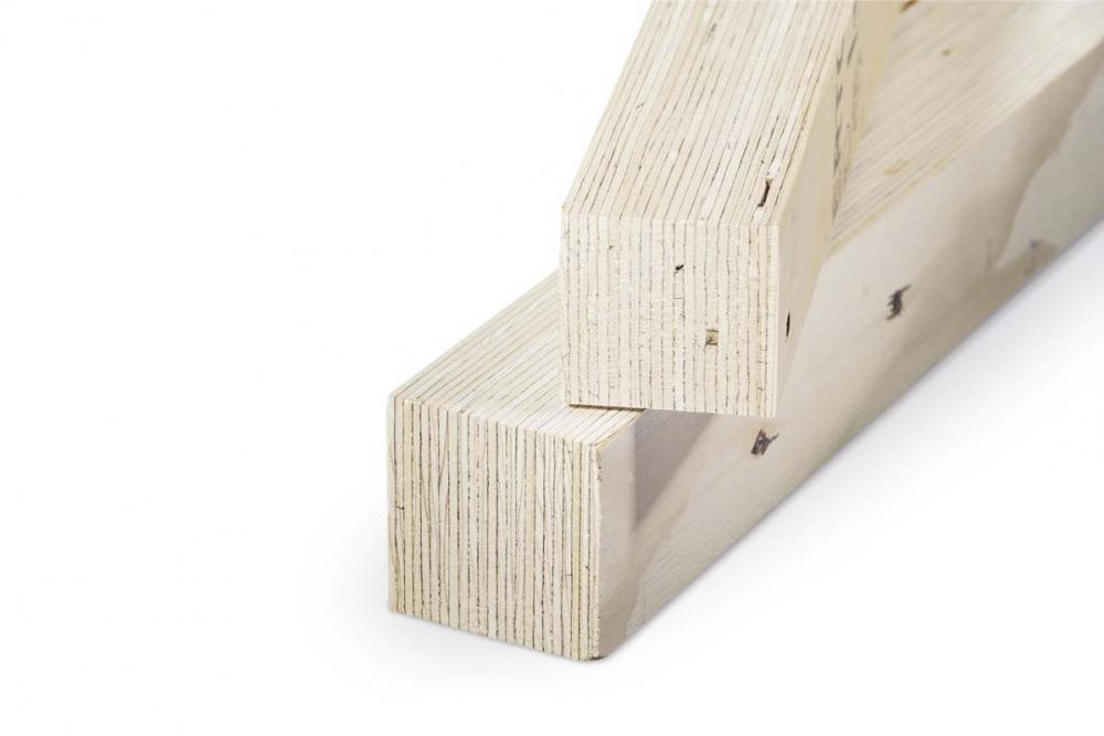 Infissi in legno e alluminio nucleo interno con tecnoloia i-tec core