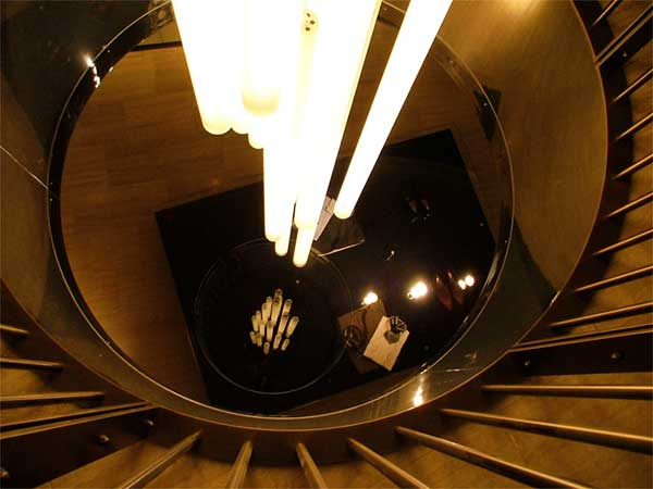 Plafoniere Per Vano Scala : Scala a chiocciola come illuminarla