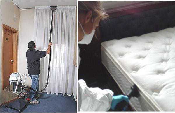 Interventi di Sanificazione con Ozono per tendaggi e materassi Ditta Ozosystem-International