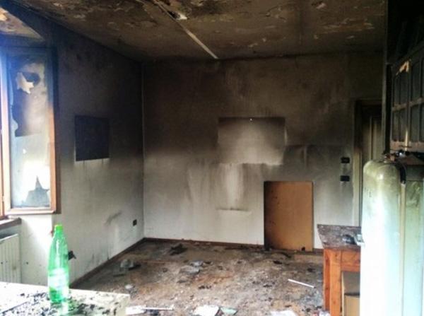 Danni da incendio  domestico