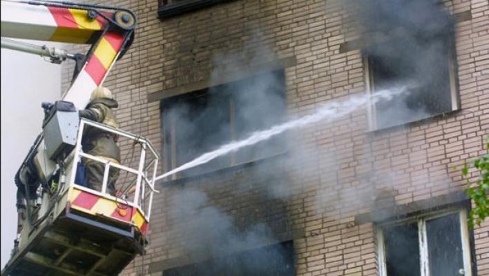 Incendio in appartamento