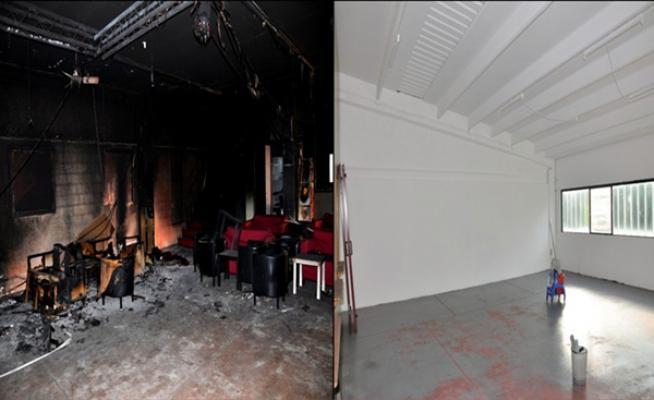 Intervento di sanificazione ambiente incendiato- Ditta Franceschetti