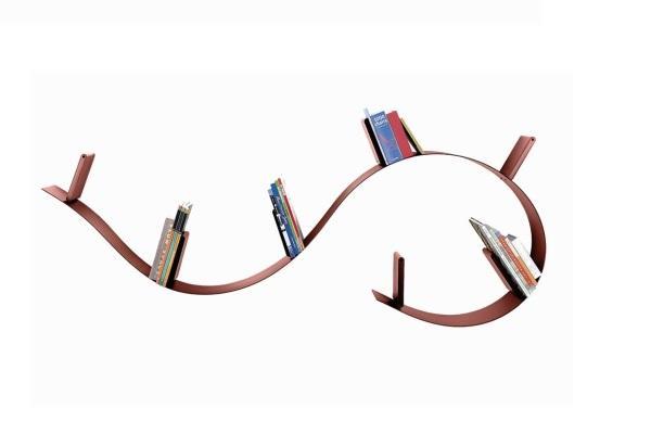 Mensola Bookworm di Kartell