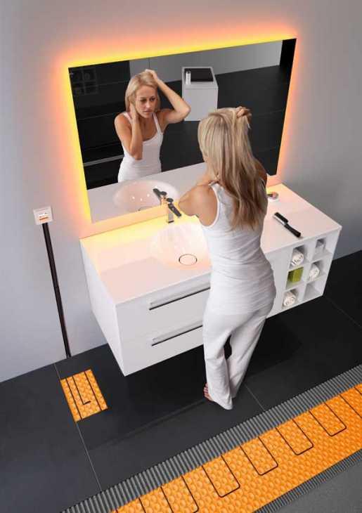 Riscaldare le superfici desiderate con i sistemi di riscaldamento Schlüter®-DITRA-HEAT