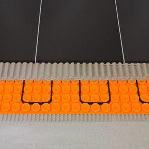 Strati del sistema di riscaldamento elettrico Schlüter®-DITRA-HEAT