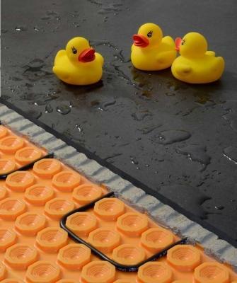 Riscaldamento a pavimento sicuro in zone con acqua battente