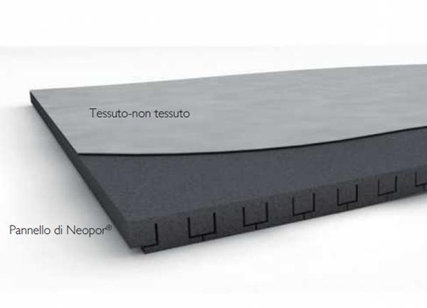 Cassonetti per tapparelle, isolamento con pannello in Neopor