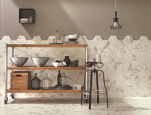 Rivestimenti ceramici Bistrot Wall di Ragno