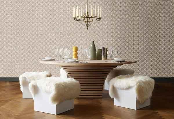 Tavolo scenografico in legno di Emmemobili