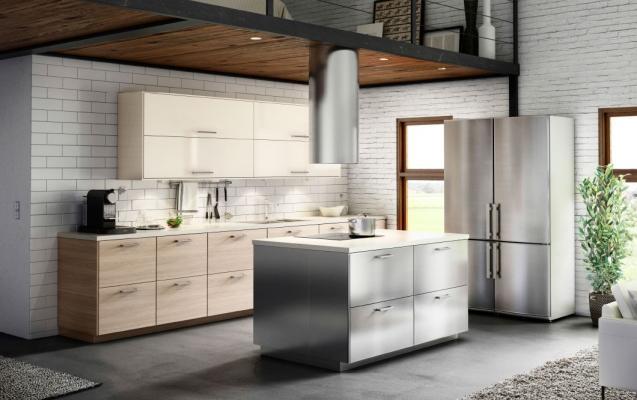 Cucine moderne - Cucina ikea isola ...
