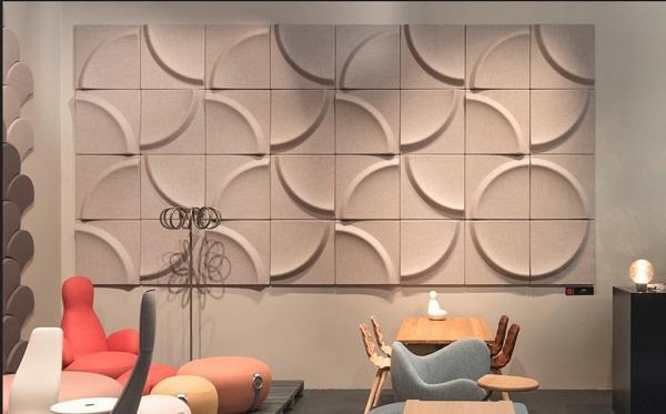 Pannelli acustici Gaia di Stone Designs