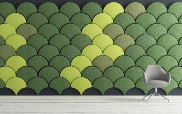 Pannelli acustici Ginko di Stone Designs