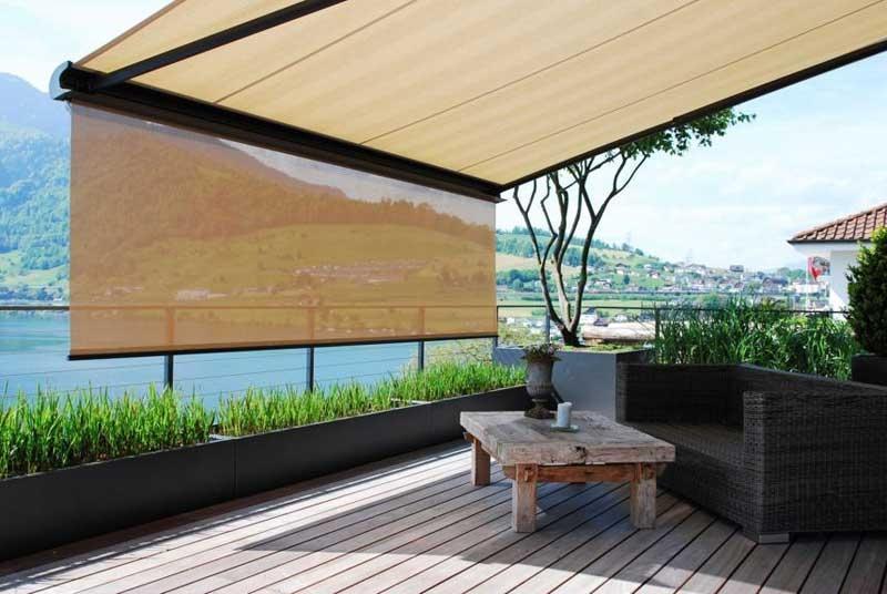 Foto come arredare un terrazzo for Arredo terrazzo napoli