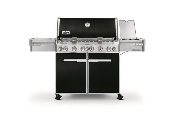 Barbecue a gas Weber Summit black