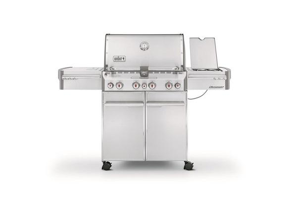 Barbecue a gas Summit white di Weber
