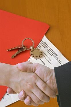 contratto e consegna di immobile