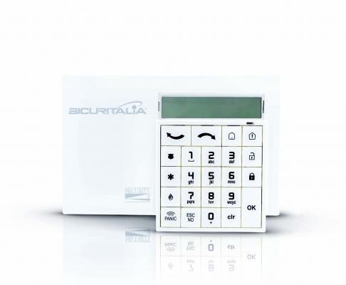 Tastiera di controllo antifurto sicurezza