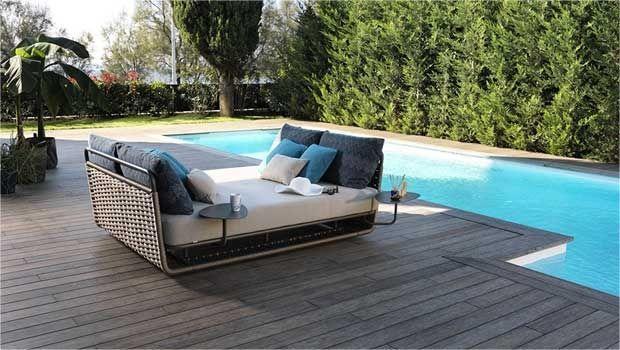 Arredare l'outdoor con letti da giardino