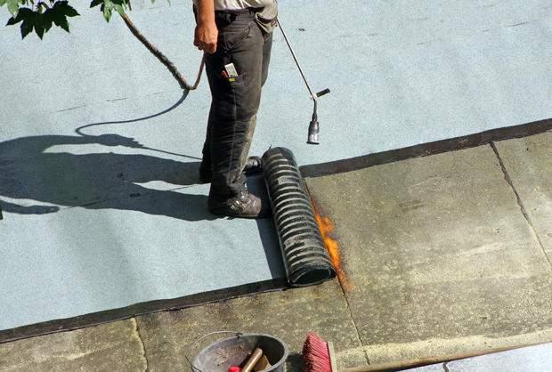 Impermeabilizzazione terrazzo applicazione della guaina
