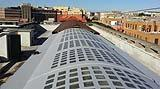 Impermeabilizzazione di una copertura con elementi trasparenti eseguita dall'Azienda Resine Industriali s.r.l.