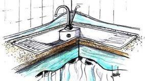 Quando progettare un lavello in pietra per la cucina