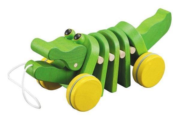 Alligatore trainabile Plantoys