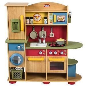 Giocattoli in legno - Cucina legno bambini usata ...