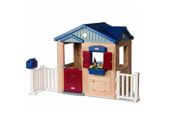 Casa di campagna in legno di Little Tikes