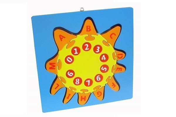 Puzzle Sole alfabeto e numeri di Fantastik Toys